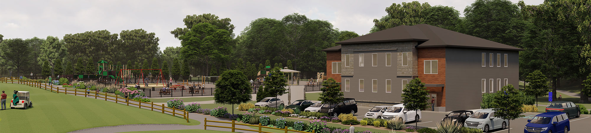 The Parke Development in Lakewood